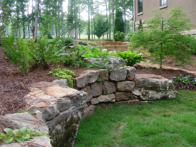 Traditional Retainer Walls by Georgia Landscape Supply