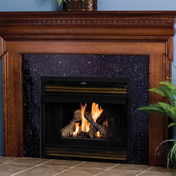 Georgetown Wood Fireplace Mantel - The Georgetown is a classic American wood fireplace available in a number of different woods and finishes, beautiful for any living space.