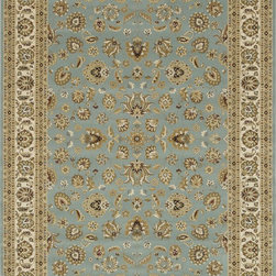 "Loloi Rugs - Loloi Rugs Welbourne Collection - Blue / Ivory, 2'-0"" x 3'-0"" - The Welbourne Collection features a more traditional design with up-to-date colors and styles. Most notably, its densely woven construction contributes to the superior quality of this new power-loomed collection. There is a variety of sizes and color combinations available."