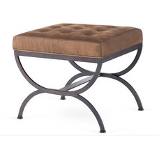 Traditional Footstools And Ottomans by Kristin Drohan Collection