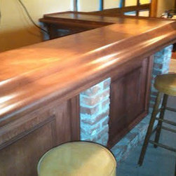 Basement Bar - C.K. Remodeling & Design