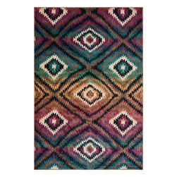 "Loloi Rugs - Loloi Rugs Sierra Collection - Brown / Multi, 3'-9"" x 5'-2"" - Through fashionable and vibrant color combinations, the Sierra Collections takes a cosmopolitan look at south western inspired designs. The collection is power loomed in Egypt of 100% polypropylene for exceptional durability, color fastness, and stain resistance. Available in eight vibrant designs and five sizes."