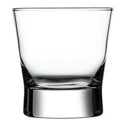 Hospitality Glass - 3.75H x 3.5T x 3.5B Petra 10 oz Rocks Tumblers 12 Ct - Petra 10 oz Rocks
