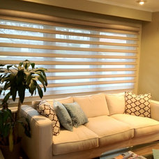 Contemporary Window Blinds by BRESLOW HOME DESIGN CENTER