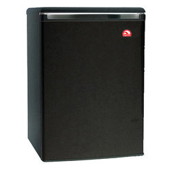 Curtis - Igloo 3.2 Cubic-Foot Mini Fridge Black - IGLOO 3.2 cubic feet Mini Refrigerator and Freezer - FR320 Black -Equipped with an adjustable thermostat.  CFC-free compressor.  It sports a reversible door construction that could be opened from either side so you can place it in any corner of the room.  Wire shelves maximize the efficiency of the fridge and reduce its power consumption, helping you save on energy bills.  Further, the reversible-door refrigerator integrates a door can holder and a tall bottle holder.  Adjustable leveling legs help keep refrigerator stable on uneven floors.