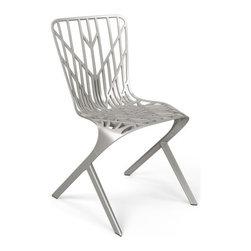 Knoll - Knoll | Washington Skeleton™ Nickel Plated Aluminum Chair - Design by David Adjaye, 2013.