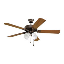 """Fanimation - Fanimation Aire Decor 215 52"""" 5 Blade Ceiling Fan - Blades & Fitter Light Kit - Included Components:"""