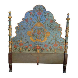 Bed Frame Custom Made by Rossi of SF - $15,000 Est. Retail - $10,000 on Chairish -