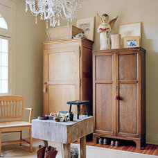 Eclectic  Stylish Storage: Vintage & Antique Armoires | Apartment Therapy DC