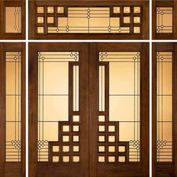 "Jeld-Wen 260 Genuine Mahogany Doors and Sidelights Transoms - SKU#    260_1Brand    Jeld-WenDoor Type    ExteriorManufacturer Collection    Jeld-Wen Exterior Custom WoodDoor Model    Door Material    WoodWoodgrain    MahoganyVeneer    Price    $Door Size Options      $Core Type    Door Style    Art DecoDoor Lite Style    Full LiteDoor Panel Style    Home Style Matching    ContemporaryDoor Construction    Prehanging Options    Prehung Configuration    Double Door with Two SidelitesDoor Thickness (Inches)    Glass Thickness (Inches)    Glass Type    Glass Caming    PatinaGlass Features    Glass Style    Glass Texture    Glass Obscurity    Door Features    Door Approvals    Door Finishes    EbonyDoor Accessories    Weight (lbs)    310Crating Size    25"" (w)x 108"" (l)x 52"" (h)Lead Time    Warranty"