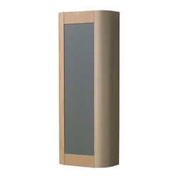 Whitehaus - Whitehaus Collection Aeri 15W x 39.25H in. Vertical Wall Mount Bathroom Storage - Shop for Bathroom Cabinets from Hayneedle.com! A wood construction with a lovely birch finish makes the Whitehaus Collection Aeri 15W x 39.25H in. Vertical Wall Mount Bathroom Storage Cabinet WHAEMN03 stylish as well as functional. Its four shelves give you plenty of room for all your necessities and a mirrored door delivers an added touch of contemporary style.About Alfi Trade Inc. A place where beauty quality and service meet at last. Alfi Trade Inc. is a Los Angeles California company that recently merged with Whitehaus Collection in West Haven Connecticut to be their exclusive West Coast distribution center. Whitehaus Collection products transform the most essential rooms in the home: the kitchen and bath into reflections of the homeowners personal style. For over 10 years Whitehaus Collection has been providing people with high-end decorative plumbing fixtures that are beautiful and stand the test of time.