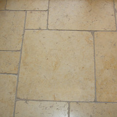 mediterranean floor tiles by Habitat Stone