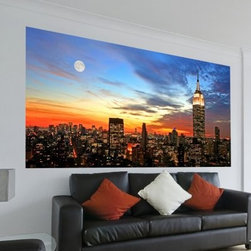 Wall Pops City Sunset Wall Decals - About WallPopsModern wall decor doesn't come easier – or more stylish – than it does from WallPops. With their designer products featuring bright colors, fun patterns, and unique accents, WallPops is quickly becoming the world's leader in fashionable peel-and-stick wall decals. Their high quality and versatile products are always repositionable and removable, making them safe for walls – in your living room, the kitchen, the kid's room, or a college dorm. WallPops products come with a wealth of sophisticated decor; from contemporary to classic and funky to functional, there's certainly a WallPops wall art product to suit any palate. WallPops is manufactured by Brewster Home Fashions, based in Randolph, Mass. Brewster is a fifth-generation, family-owned and operated company founded in 1954.