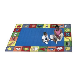 Joy Carpets Jump Start Kids Area Rug - Additional Features:10-year wear warrantyLifetime Anti-static Protection2-ply heat set yarnIndoor air quality certifiedLifetime soil and stain protectionHigh fiber densityAccommodates residential and commercial trafficClass I flammability ratingColorseal permanent bleach protectionHow to care for your rug: Dry extraction is the preferred method of cleaning. An absorbent compound saturated with detergents and solvents is brushed in and around the fibers. The compound attaches to soil particles and both the particles and compound are then removed by vacuuming. For best cleaning results, always pre-vacuum and apply a pre-spray solution prior to cleaning. Never use soap, ammonia, automatic dishwashing detergent, washing soda, or any strong household cleaning agents intended for use on hard surfaces.