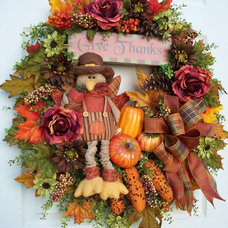 Traditional Holiday Decorations by Timeless Floral Creations