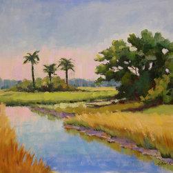 Roweboat Art Inc - Kiawah, Fine Art Reproduction, 20X16 - Original painting reproduction