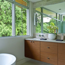 Contemporary  by Werner Construction Ltd.