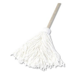 UNISAN - 12 OZ HANDLE MOP RAYON 6/PACK - CAT: Mops, Brooms & Brushes Mops & Equipment Handle Mops