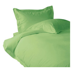 300 TC Sheet Set 15 Deep Pocket with 1 Flat Sheet Sage, Twin XL - You are buying 2 Flat Sheet (66 x 102 inches), 1 Fitted Sheet (39 x 80 inches) and 2 Standard Size Pillowcases (20 x 30 inches) only.