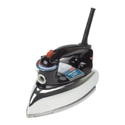 Applica - Black Decker Classic Iron with AO Black - Black and decker classic iron with a classic design and a wide range of convenient features the classic iron brings simplicity and style back to ironing. A smartemp indicat or light ensures you are ironing at the right temperature while the 3 way auto shutoff provides added security and peace of mind. Wrinkle fighting power aluminum soleplate steam on off button ironing made easy 3 way auto shutoff anti-drip fabric guide button groove pivoting cord.