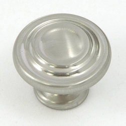 Stone Mill - Stone Mill Satin Nickel 3-ring Cabinet Knobs (Pack of 25) - Give your cabinets a quick facelift with these trendy satin-nickel cabinet knobs from Stone Mill Hardware. These 1.25-inch knobs are made from solid zinc alloy for durability, and are individually bagged before shipping to ensure scratch-free knobs.
