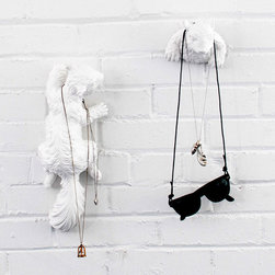 Peekaboo Squirrel Hooks - Sort out your nest with these sweet squirrel wall hooks. They'll help you organize the entryway, and their charming little faces also make them great in the kids' rooms.