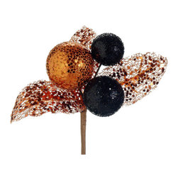 Silk Plants Direct - Silk Plants Direct Glittered Ball Pick (Pack of 24) - Copper - Pack of 24. Silk Plants Direct specializes in manufacturing, design and supply of the most life-like, premium quality artificial plants, trees, flowers, arrangements, topiaries and containers for home, office and commercial use. Our Glittered Ball Pick includes the following: