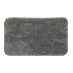 "Mohawk - Floor Mat: Grey Flannel 24"" x 40"" Bath - Shop for Flooring at The Home Depot. Add softness underfoot with these nylon bath rugs. A stylish way to add warmth to tile floors, these rugs are available in an array of designer colors. Your bathroom will look better with the addition of these beautiful bathroom mats."