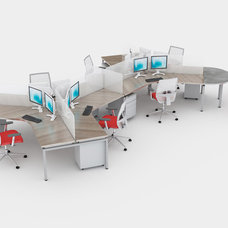 Dogbone Collaborative Cubicles/Desks