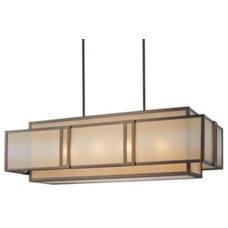 Pendant Lighting Underscore Linear Suspension by Metropolitan Lighting