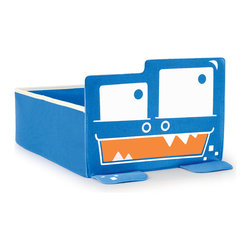 P'kolino - P'kolino Monster Under-the-Bed Storage, Blue - Now Having a Monster Under Your Bed is a Good Thing!