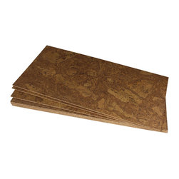 Forna - Autumn Ripple 4mm FORNA Cork Floor Tiles -(21.31 sqft per PKG) - When this cork flooring is laid, it is a beautiful, engaging floor that is interesting yet subtle.  A beautiful mimic of a Maple.Everyone who has installed it, loves it.