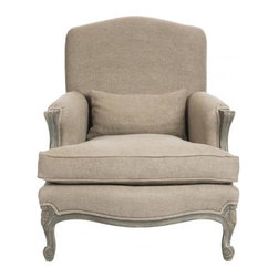 Aidan Gray - Aidan Gray Paris Salon Chair - Memory Foam - The Paris Salon Chair is an extra deep chair with new memory foam to cradle you in comfort and relaxation. Color/Finish: Paris Gray - Memory Foam.