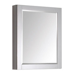 Avanity - Avanity 24 in. Mirror Cabinet for Brooks / Modero / Tribeca - Avanity 24 in. Mirror Cabinet for Brooks / Modero / Tribeca in Chilled Gray finish
