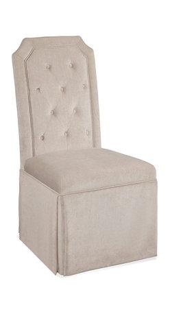 Bassett Mirror - Bassett Mirror Aramis Parsons Chair (Set of 2) - Aramis Parsons Chair, Set of 2
