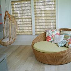 Beach Style Kitchen by Andra Birkerts Design
