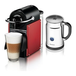 Nespresso - Nespresso Pixie D60 Carmine/Aero Plus Bundle - Product Description