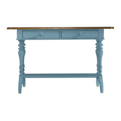 Stanley Furniture - Stanley Furniture Coastal Living Cottage Console Table with Boardwalk Top - Stanley Furniture - Console Tables - 829C505