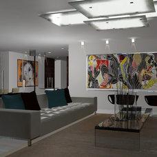 Contemporary Rendering by Pepe Calderin Design- Modern Interior Design