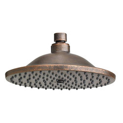 "American Standard - American Standard 1660.680.224 8"" Rain Showerhead, Oil Rubbed Bronze - American Standard 1660.680.224 8"" Rain Showerhead, Oil Rubbed Bronze. This 8"" calming rain showerhead features a drenching rain water flow, easy to clean surfaces, a solid brass construction, and a 2.5 GPM maximum flow rate."