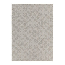 Chandra Rugs - Hand-Tufted Trasitional Rug REK29603 - 7' x 10' - Hand-tufted Trasitional Rug - REK29603 - 7' x 10'