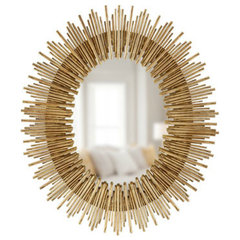 modern mirrors by Horchow