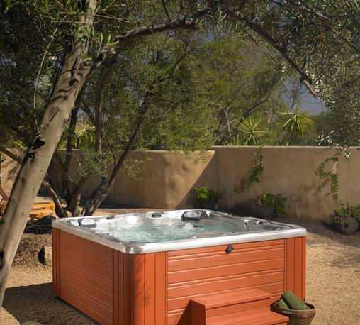 Utopia Series: Niagra - Caldera Spa: Find that perfect spot in your backyard