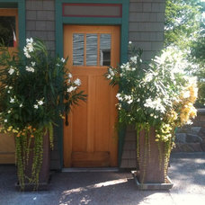 Traditional Outdoor Pots And Planters by A J Miller Landscape Architecture PLLC