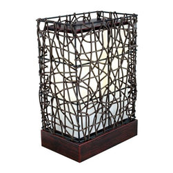 EGLO - Eglo 89561A Dark Brown 1X40W Floor Lamp - EGLO 89561A Dark Brown 1x40W Floor Lamp