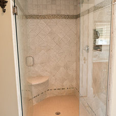 Traditional Bathroom by amydutton Home