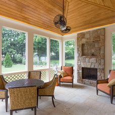 Craftsman Porch by Touchstone Custom Homes