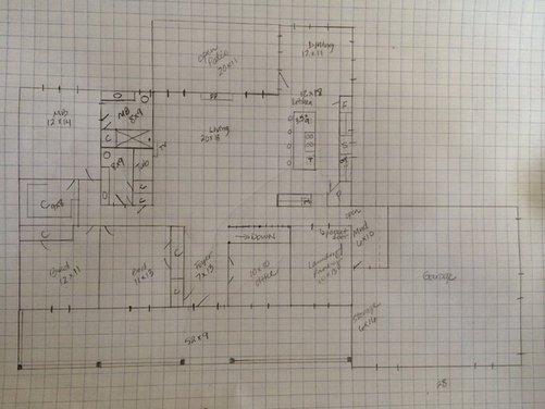 Rough Draft Of Floor Plan Thoughts