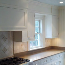 Traditional Kitchen Cabinetry by Toby Leary Fine Woodworking Inc.