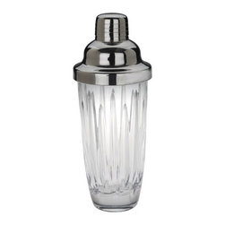 Reed & Barton - Crystal Soho Cocktail Shaker - A division of the world famous Reed & Barton company, Miller Rogaska was developed as the perfect choice for first time collectors of affordable crystal stemware and barware. Known for it's brilliant clarity, each piece of Reed & Barton crystal has been crafted with a unique attention to detail by a dedicated group of European artisans. The crystal collection is a handsome and modern choice, a perfect look to pair with tailored china and table linen patterns. Features: -Soho cocktail shaker. -Complements the Crystal collection. -Brilliant color and clarity. -Design incorporates deep contemporary linear cuts. Specifications: -Material: Crystal. -Handwash recommended.